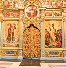 Altar of the Cathedral of the Resurrection. New Jerusalem Monast