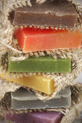 Assorted natural soap