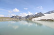 canvas print picture - See in den Stubaier Alpen