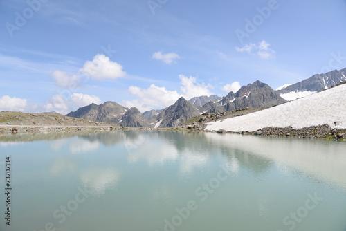 canvas print picture See in den Stubaier Alpen