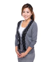 Asian young woman portrait