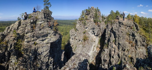 Rocks in the Urals