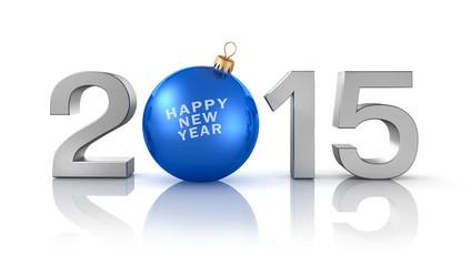 2015 mit blauer Kugel