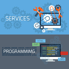Concept for services and programming