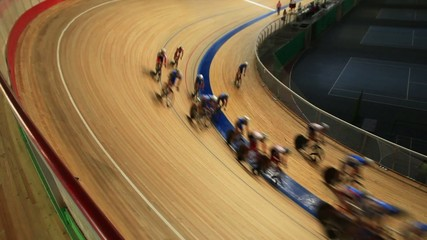 Start cycling pursuit competitions