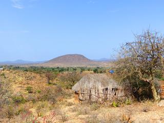 Leopardenberg Gorofani Mangola Tansania Afrika