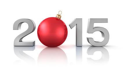 2015 mit roter Kugel