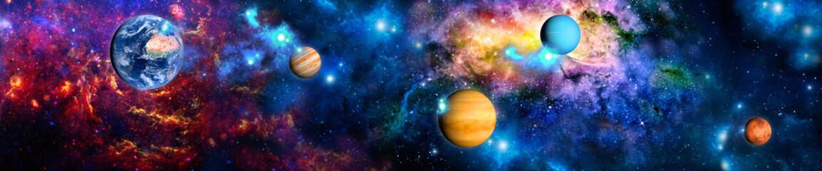 Коллаж космос