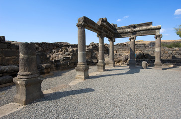 The synagogue of Korazim