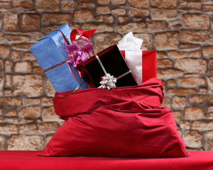 Gifts in sack
