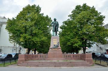 Санкт-Петербург, памятник композитору М.И. Глинке