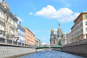 Санкт-Петербург, канал Грибоедова, Собор Спаса на крови