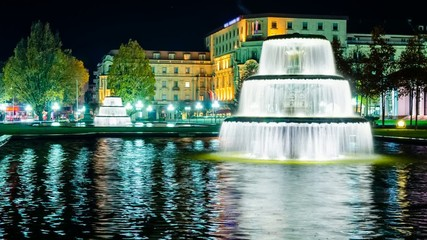 TL - Wiesbaden by night
