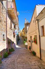 Alleyway. Cancellara. Basilicata. Italy.