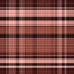 Seamless gingham pattern in pink and brown