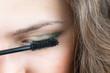 ������, ������: Applicare mascara make up
