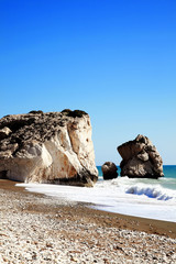 Rock of Aphrodite, Cyprus