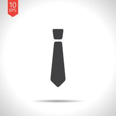 Vector tie icon. Eps10