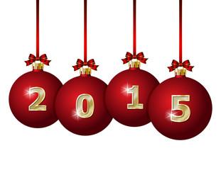 Glass Christmas Balls 2015