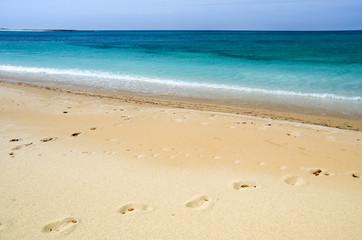 Sardegna, spiaggia di Maimoni, Cabras (Or)