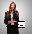 Smiling tablet