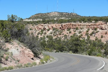 Road in Colorado National Monument State Park