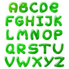 green blots alphabet
