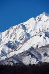 雪山 北アルプス