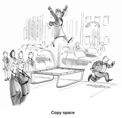 Copy Space (insert your own caption)