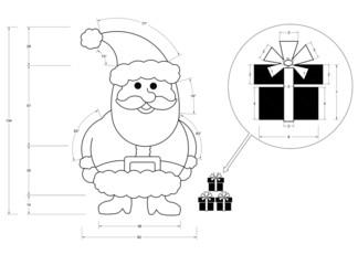 Santa Claus Blueprint