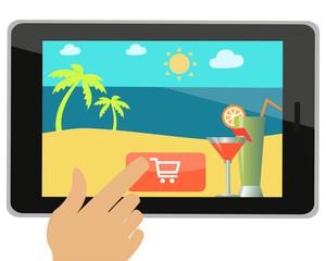 Buying travel online