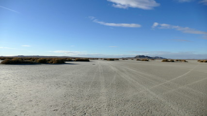 El Mirage Dry Lake Desert Driving Time Lapse