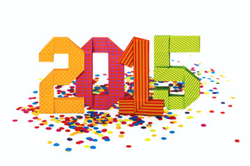 Origami 2015 numbers
