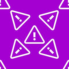 info web icon. flat design. Seamless pattern.