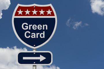 Green Card this way