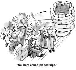 """""""No more online job postings."""""""