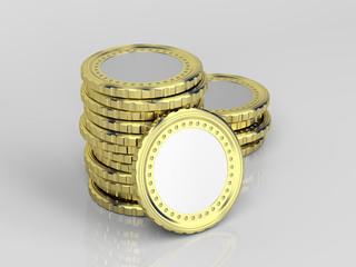 Blank coins