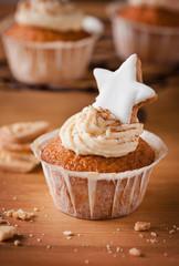 weihnachtlicher spekulatius cupcake IIII