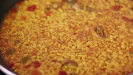 spanish rice paella