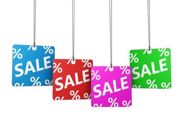 Sale Price Tags Concept