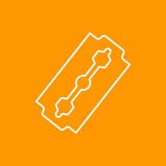 Vector blade icon. Eps10