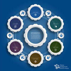 Infographic  #Network, Communication, Satellite