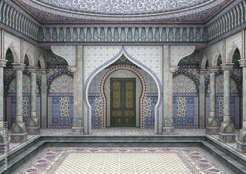 Fototapeta 3d Illustration Oriental Palace