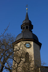 Dornburg (Saale) Kirche St. Jakobus Major (1718, Thüringen)