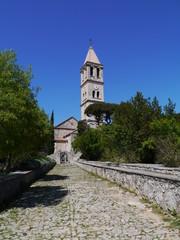 The lady of health church in Jezera on the island Murter