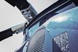 Leinwanddruck Bild - Hubschrauber Rotor