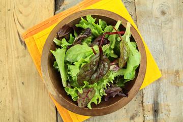 plat de salade
