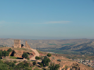 Ruins of Volubilis before View of Fes