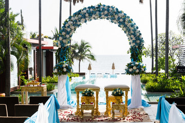 thai decorate wedding
