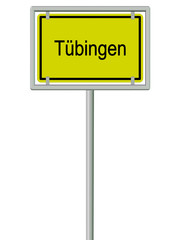 Tübingen - Ortsschild